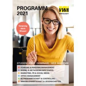 VWA Programm 2021 Wirtschaft